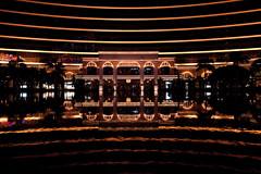 Wynn Macau (Penelope's Loom) Tags: reflection building water fountain night hongkong lights nikon casino symmetry macau wynn d700 1424mm28