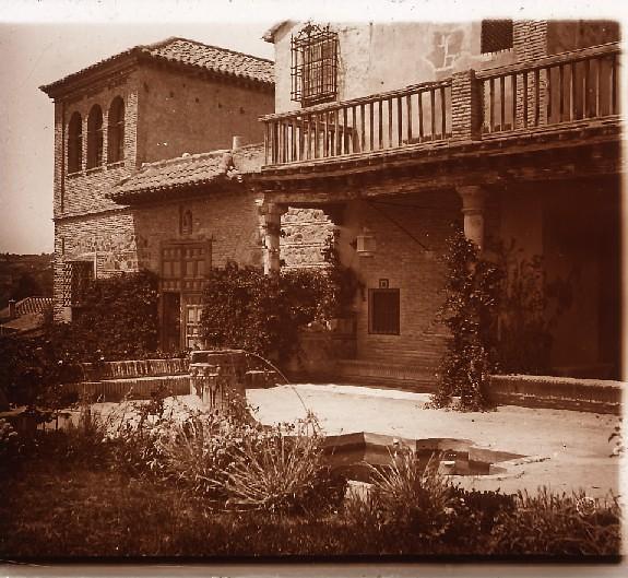 Museo del Greco en los años 20. Fotografía de Ángel del Campo Cerdán