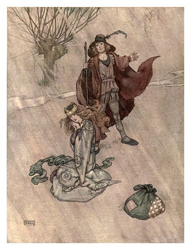 019-El porquero-Hans Andersen's fairy tales (1913)- William Heath Robinson
