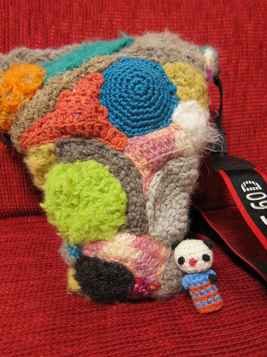 knitted camera case