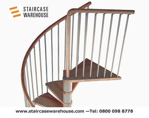 C20 Plus Kit Spiral Staircase Stairs Staircase Warehouse 4