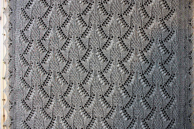 Estonian Shawl -  Pattern detail