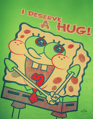 I Deserve  [ H U G ! (so ) Tags: hug spongebob deserve
