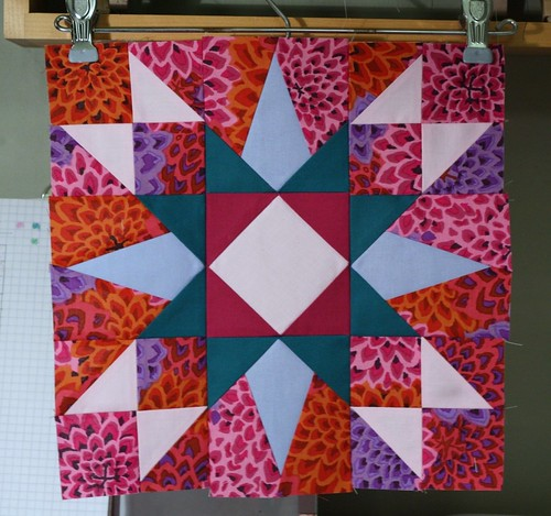 A star for my Blocks of a Feather quilt