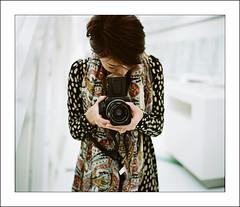 Miss Vogue (Danny Chou) Tags: 120 6x6 kodak professional hasselblad pro fujifilm 6x7 fujinon ebc  160 500cm        gf670