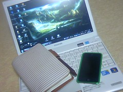 20101121_PC・iPod・手帳