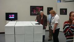 """The Edge of The World"" – The Senior Exhibition of Richard Barbre 35 (HSU Art Dept) Tags: show senior university state library richard henderson hsu huie barbre"