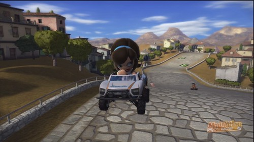 ModNation Racers PS3:  Flo & Kart