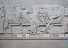 Parthenon, East Frieze, Slab 4 (Gods)
