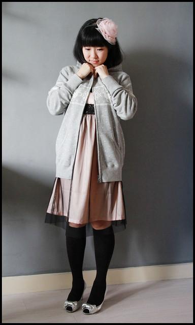 Floaty Pink + Comfy Grey