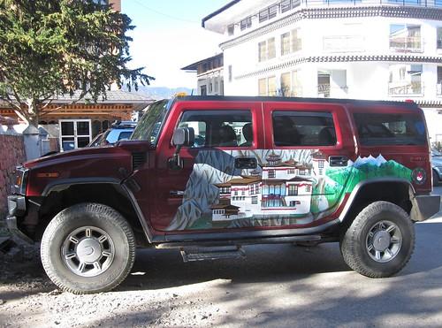 Bhutanese Hummer?