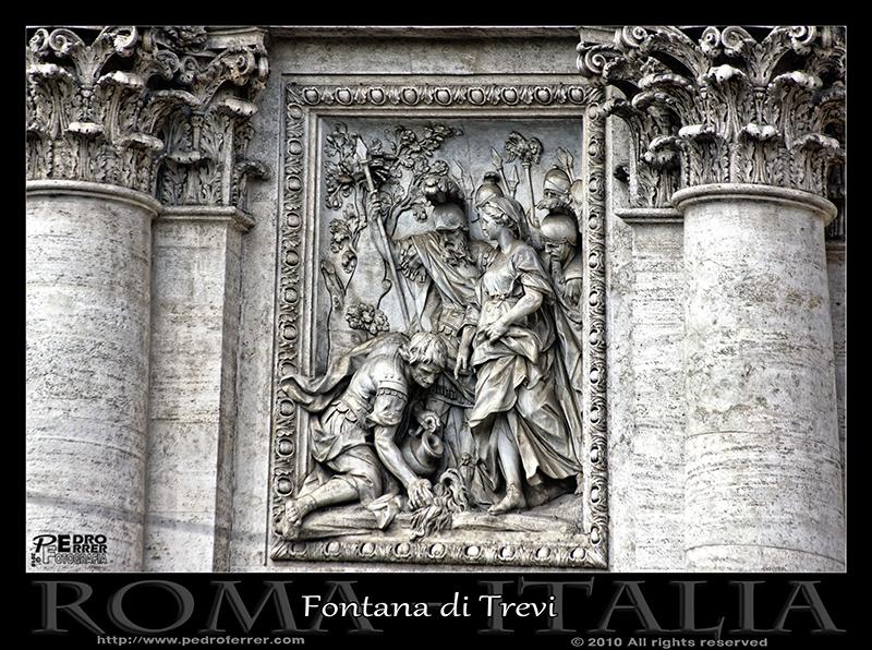 Roma - Fontana di Trevi - Trivia descubre el manantial