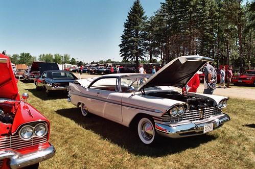 1959 Plymouth Fury HT - copper