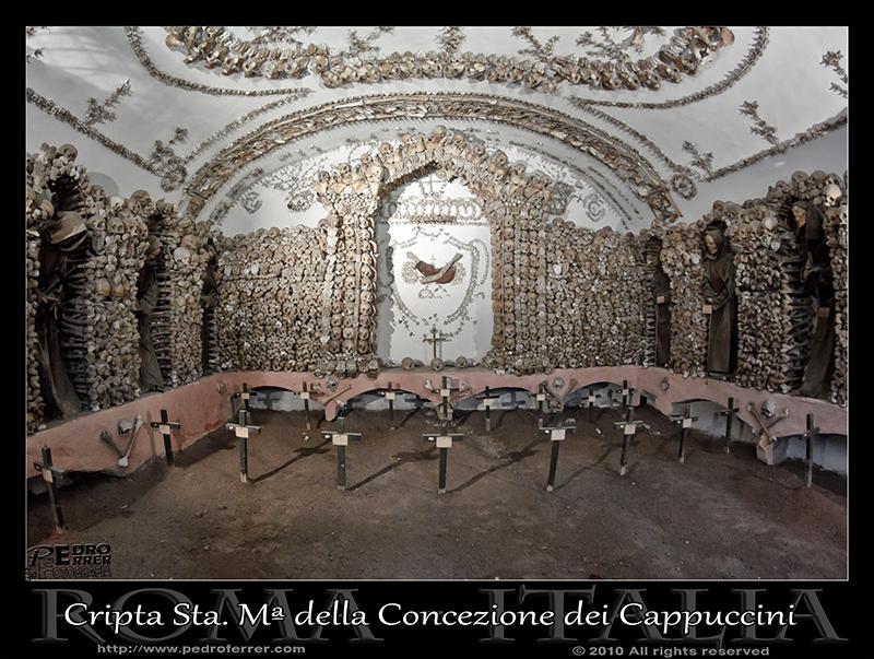 Roma - Santa María della Concezione dei Cappuccini - Cripta - Capilla 3