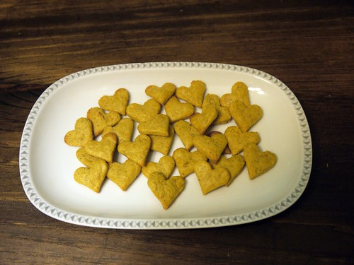 Heart Cheezy Crackers