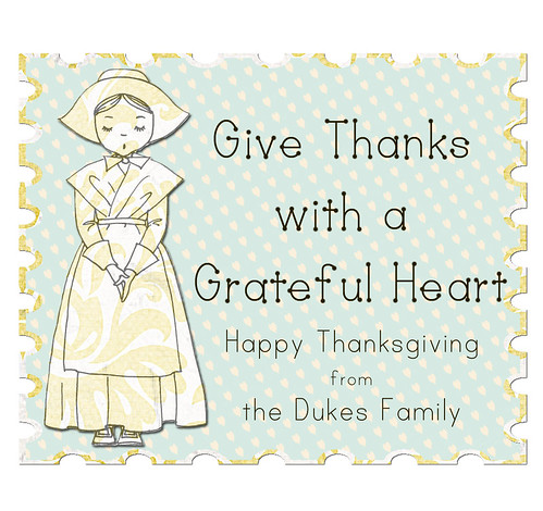 happy Thanksgiving from the dukes