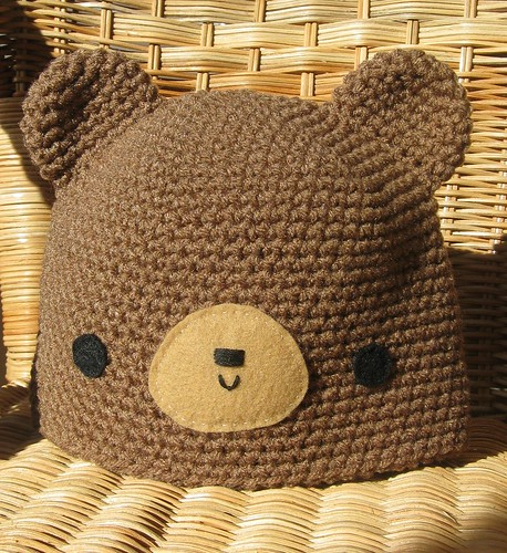 Teddy Hat for Baby