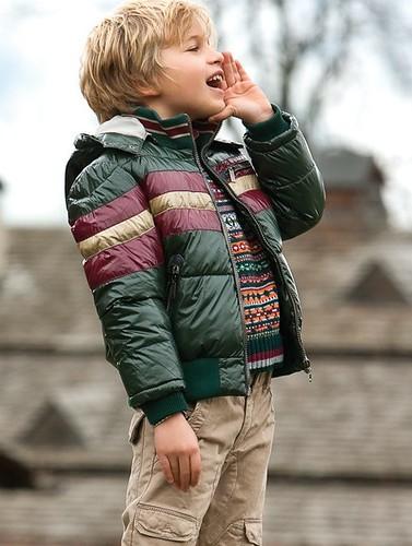 Sarabanda, abrigos y cazadoras para niños de Sarabanda, moda infantil colección de invierno