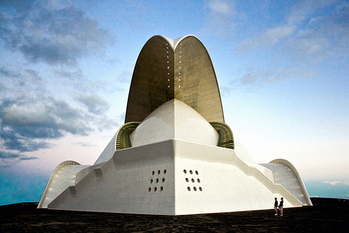 Tenerife Concert Hall, Santa Cruz de Tenerife, Canary Island, Spain