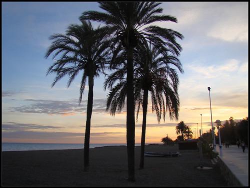 Anochece en Torre del Mar (3)