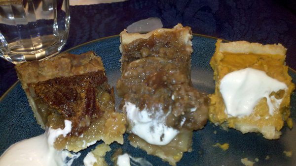 Thanksgiving Pie Trio