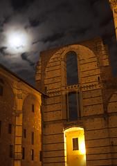 Facciatone del Duomo di Siena (lorlenzo) Tags: siena notturno