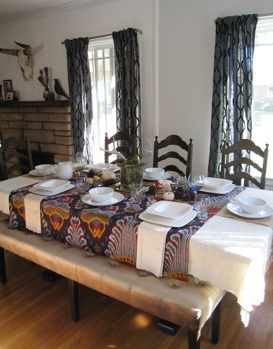 My Thanksgiving Table+table setting+tabletop