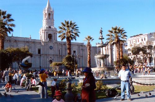 Arequipa – bílé město pod sopkami