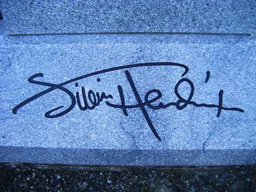 Jimi Hendrix's Signature