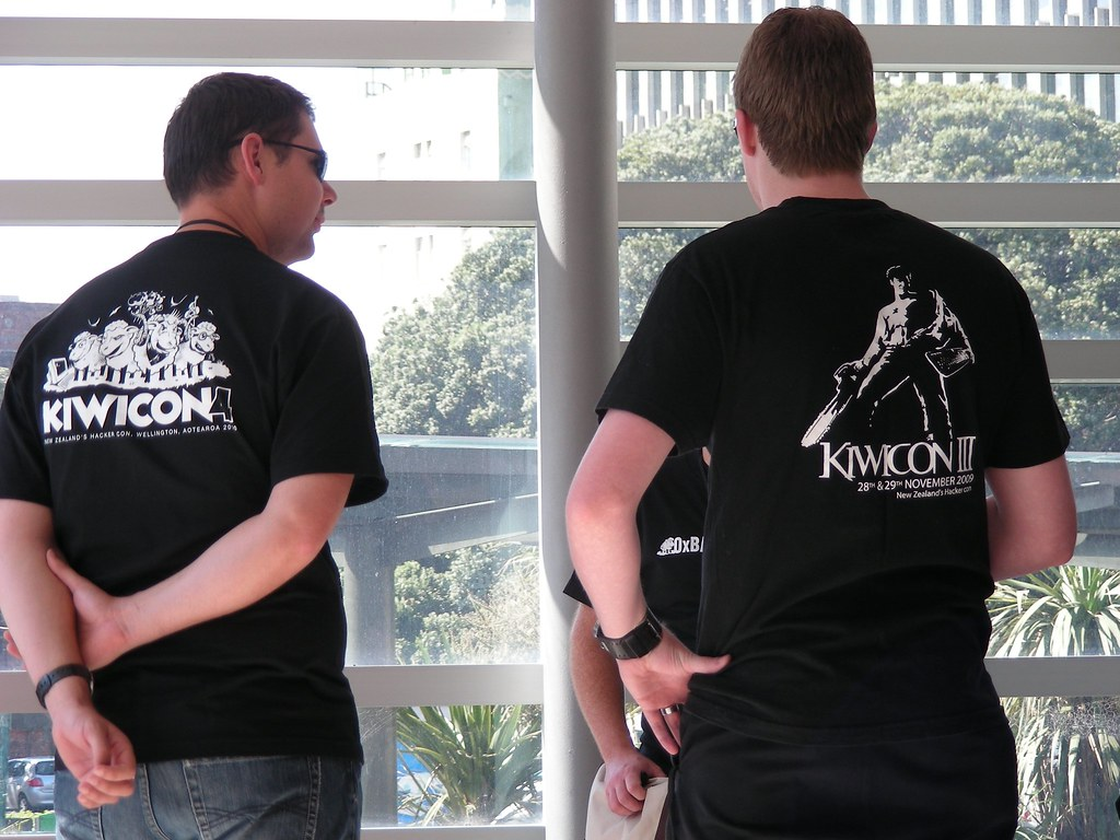 Each conference its T-shirt