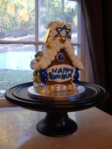 Chanukah Gingerbread House