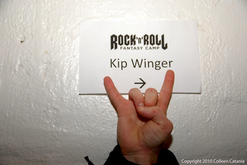 Rock n Roll Fantasy Camp Kip Winger