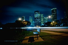 ALWAYS EMPTY (Marquisa -) Tags: light bench greek interestingness long exposure downtown texas photographer nocturnal skyscrapers houston explore nd fp frontpage nocturne manfrotto hoya hbm mistique marquisa explored svetlanavasiliadi russiantexas svetan svetanphotography