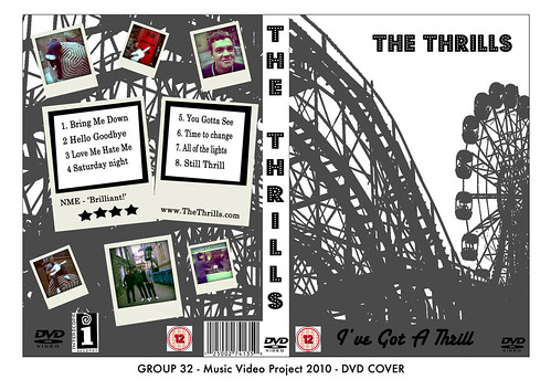 13T1-32 Music DVD Cover