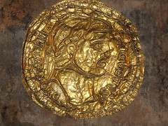 Diocletian Solidus (tom_2014) Tags: art gold golden coin ancient roman croatia palace carving diocletian classical balkans split gilded wealth antiquity dalmatia diocletianpalace emperordiocletian diocletiansolidus