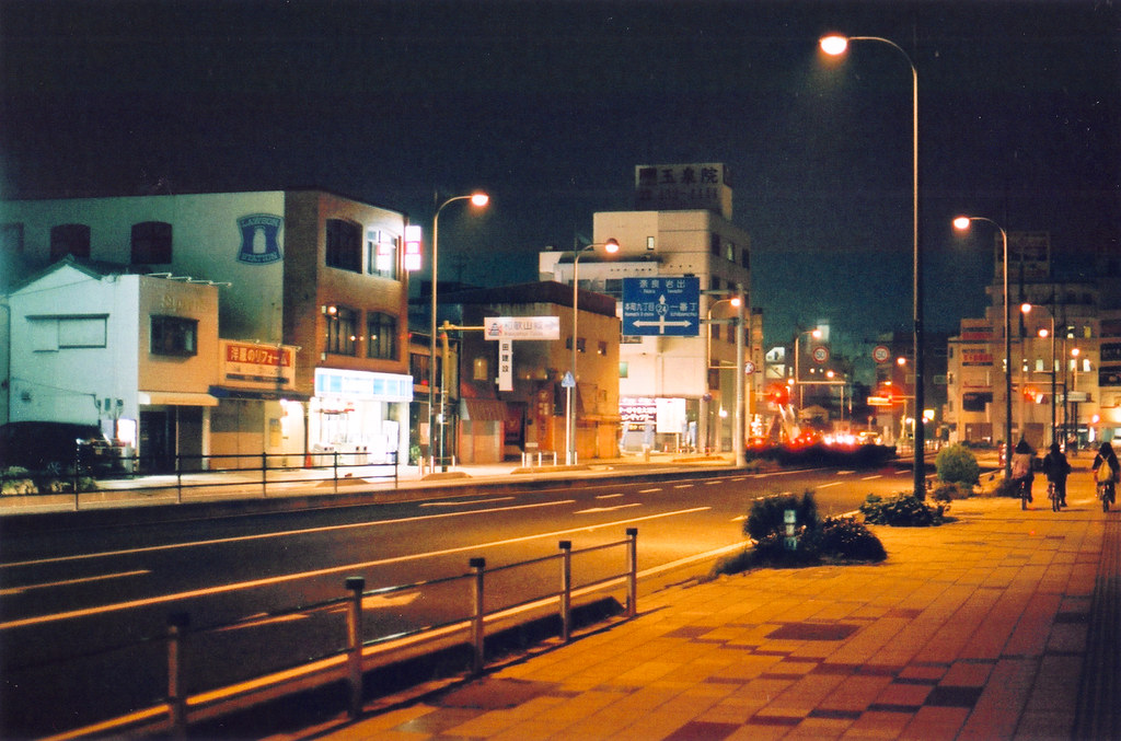 A Road in Wakayama City - Film