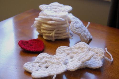 Crochet Star Christmas Ornaments