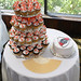 Orange Flower Cupcakes and River Plate Cake