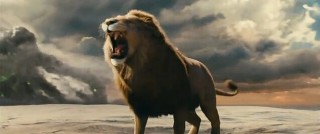 Aslan in The Chronicles of Narnia The Voyage of the Dawn Treader 2011 Film