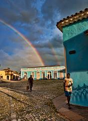 Arcoiris (marianobs) Tags: colors arcoiris clouds contraluz atardecer colores nubes saturation contraste cielos nikkor 1224 saturacion marb nikonfx