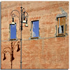 IN - ON - OUT (Nespyxel) Tags: windows shadow rome roma lamp wall facade outside streetlamp ombra inside viadeiforiimperiali facciata windowinthewindow inonout