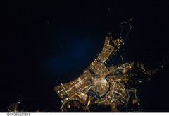 New Orleans at Night (NASA, International Space Station, 01/26/11)