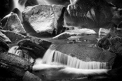 Frosty-Rocks (petefoto) Tags: longexposure blackandwhite cold ice wet wales is nikon rocks frost action spray waterfalls his filters icewater resolven breconbeaconsnationalpark nd106 melincourtwaterfall mygearandme