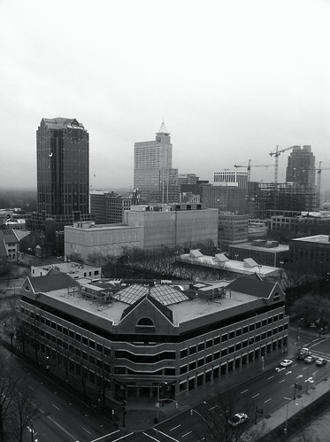 Gray Morning In Raleigh