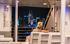 Ferry View (20170625-DSC05439) (Michael.Lee.Pics.NYC) Tags: newyork ferry boat portimperial pier79 newyorkwaterway hudsonriver night architecture cityscape timessquare sony a7rm2 zeissloxia50mmf2