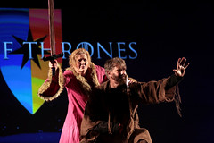 Brienne of Tarth & Jaime Lannister cosplayer (Gage Skidmore) Tags: brienne tarth jaime lannister bear maiden faire cosplay cosplayer con thrones game hbo 2017 gaylord opryland resort convention center nashville tennessee
