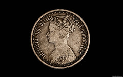 florin head (Betapix) Tags: florin coin
