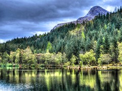 Glencoe Lochan, Scotland (Phelan (Shutter Clickin) Goodman) Tags: glencoe lochan scotland pap trees water reflection panasonic gx80 mountain