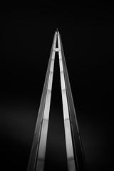 Duolith (Dan Portch) Tags: mono monochrome fine art monolith duolith installation southend sea essex uk south east moody black white low key lowkey