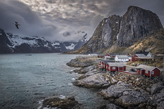 Iconic Lofoten (Sizun Eye) Tags: hamnoy iconic lofoten rorbuer reinefjorden archipelago norway nordland sea fjord mountains clouds overcast rocks sizuneye nikon d750 tamron2470mmf28 landscape icon seascape gettyimages